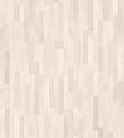 Паркетная доска Grabo Jive Дуб Айс Вайт Rustic 3-пол, белый лак