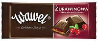 Шоколад Wawel Zurawinowa (Вавель чорный клюква) 100 г. Польша