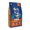 Brit Premium Cat Indoor 8кг-корм для кошек с избыточным весом (БЕСПЛАТНО НА ДОМ!)