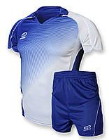 Футбольная форма Europaw 007 сине-белая
