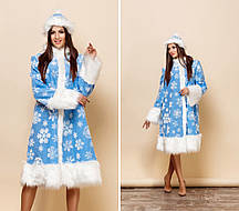 Женский новогодний костюм Снегурочки