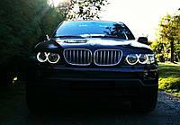 CCFL Ангельские глазки на BMW Е53  Белые