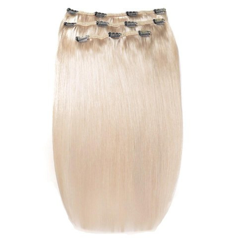 Тресс на заколках 60 см. Колір #Блонд