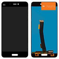 Дисплейный модуль (дисплей + сенсор) для Xiaomi Mi5, черный, оригинал