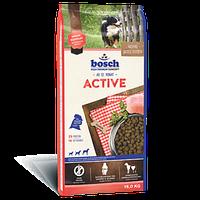 Bosch ACTIVE 15 кг - корм для собак с повышенной активностью,для спортивных, служебных собак