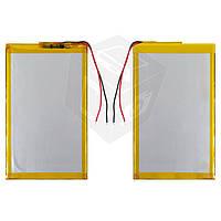 Батарея (АКБ, аккумулятор) для китайских планшетов, универсальный, 3400 mAh, 138х80х3,2 мм