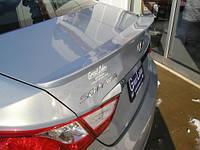Спойлер на багажник Hyundai Sonata YF