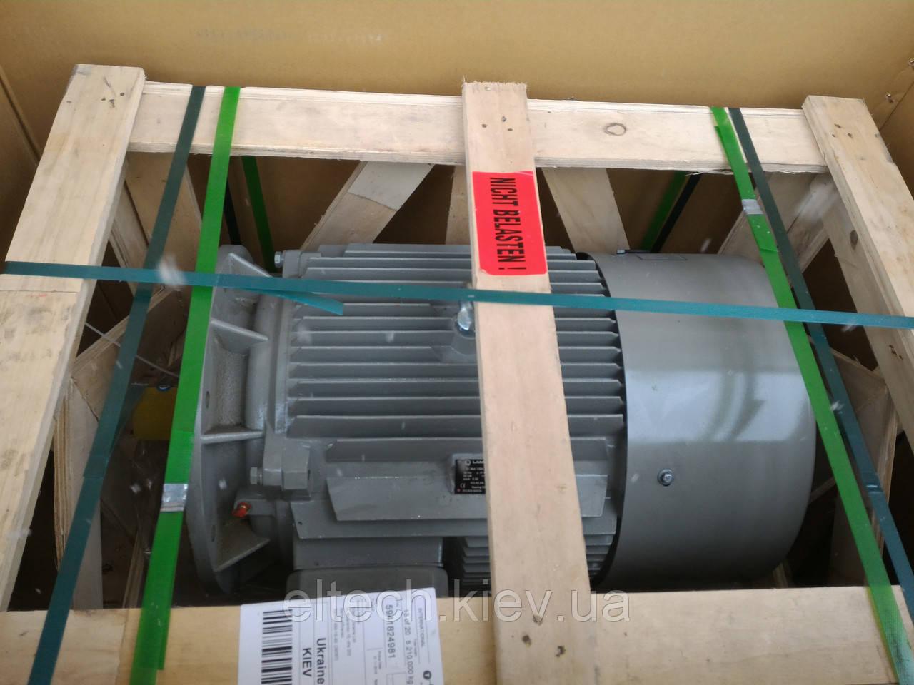 45кВт/3000 об/мин, лапы, 13ВA-225М-2-В3. Электродвигатель асинхронный Lammers