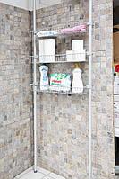 Полки для ванной с регулируемой высотой, фото 1