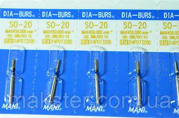 Алмазные боры MANI SO- 20, фото 2