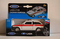 Модель машины Lada 2108