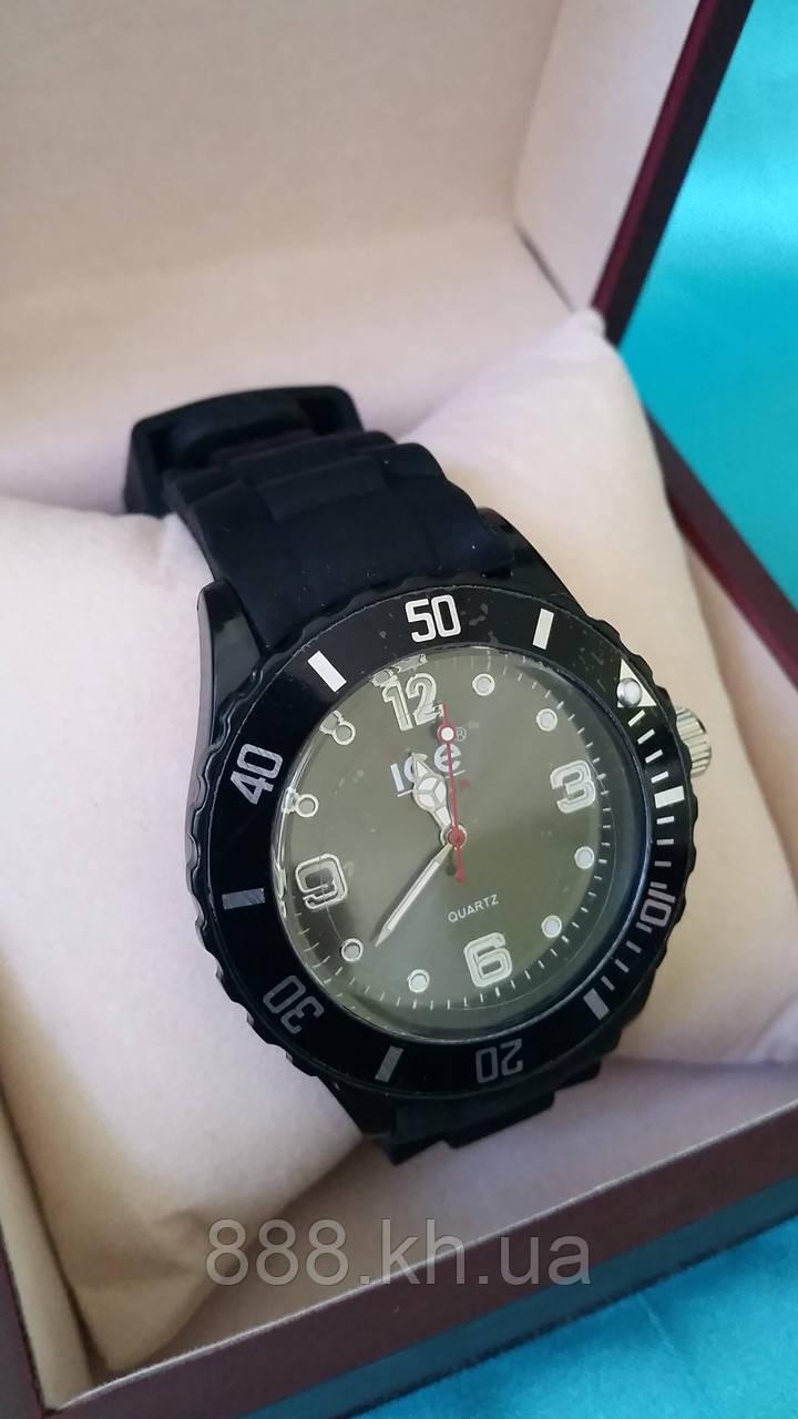 Часы ice черные