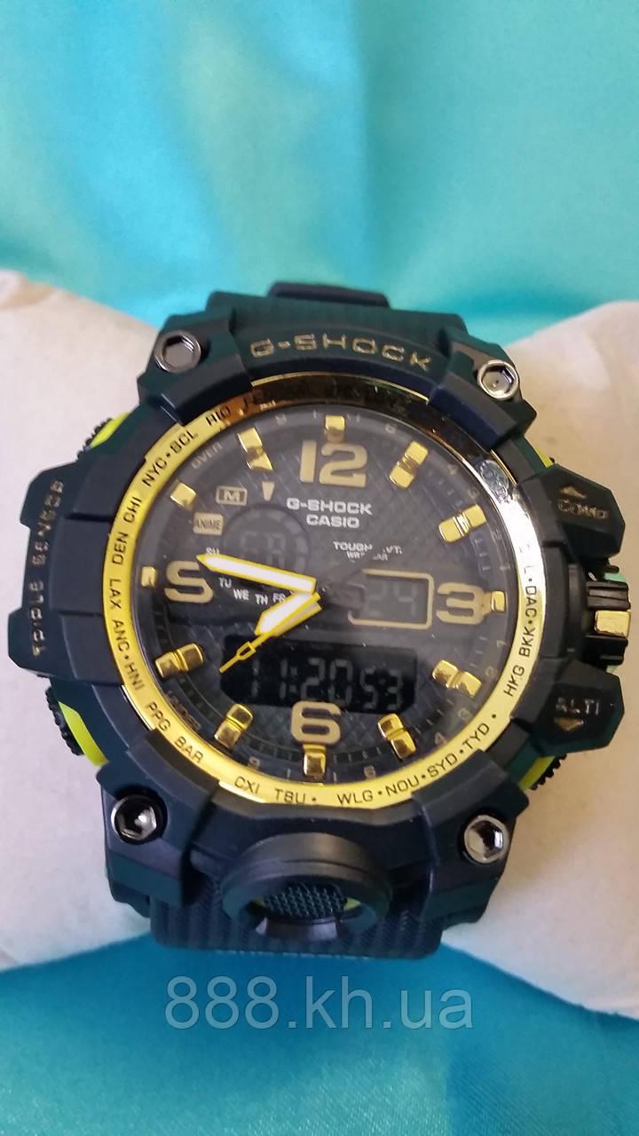 Часы мужские CASIO G-Shock new золотые 002 реплика
