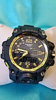 Часы мужские CASIO G-Shock new золотые 002 реплика, фото 1