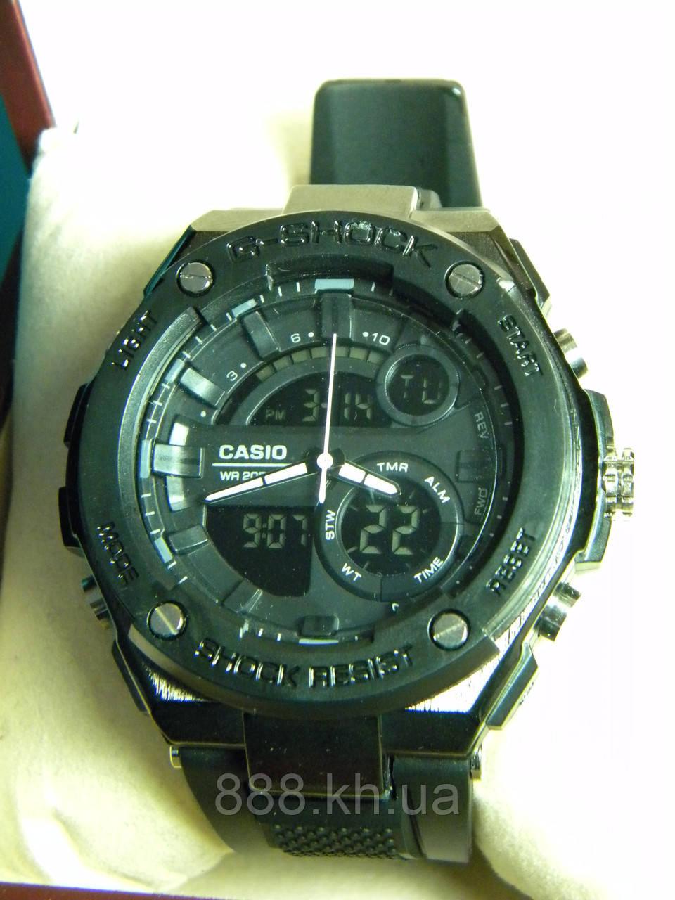 Часы мужские CASIO G-Shock метал. корпус реплика