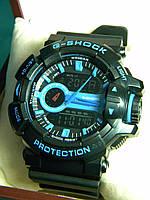 Часы мужские CASIO G-Shock ga 400 синий реплика, фото 1