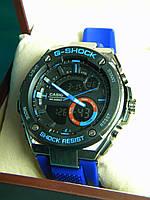 Часы мужские CASIO G-Shock метал. корпус реплика, фото 1