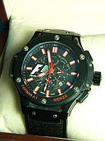 Часы наручные Hublot F1 механика реплика, фото 1