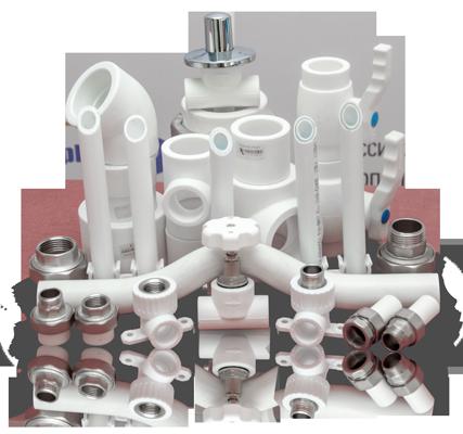 Трубы и фитинги из полипропилена (PPr)