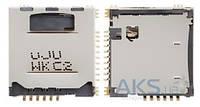(Коннектор) Aksline Разъем SIM-карты  Samsung L170 / i710 / S5230 /  LG GM200 / KP500