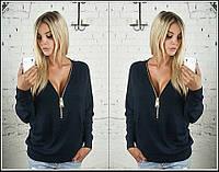 Модный женский свитерок