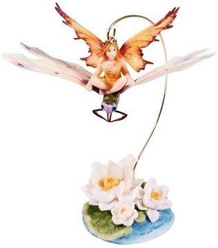 Статуэтка фея - Малышка на стрекозе Veronese 72458