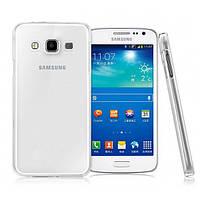 Прозрачный силиконовый чехол для Samsung Galaxy A7, A700F