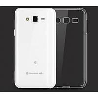 Прозрачный силиконовый чехол для Samsung Galaxy J2, J200F, Galaxy J2 Duos