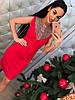 Платья трикотажное с бусинами 99812, фото 2