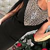 Платья трикотажное с бусинами 99812, фото 5