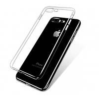 Прозрачный силиконовый чехол для Apple iPhone 7 plus