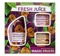 Косметический набор Fresh Juice Фруктовый уход за телом Magic Fruits (крем-гель для душа+мыло косметическое)
