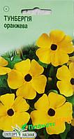 """Семена цветов Тунбергия крылатая оранжевая, многолетнее 10 шт, """" Елітсортнасіння"""",  Украина"""