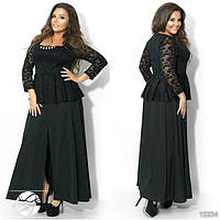 Женское праздничное платье большого размера