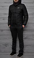 Зимняя куртка Nike 46- 54 ( Black )
