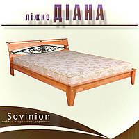 """Ліжко дерев'яне Діана Sovinion / Кровать деревянная """"Диана"""" Совиньон"""