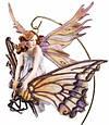 Волшебная статуэтка фея - Малышка на бабочке Veronese 72459, фото 4