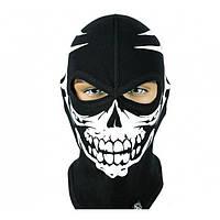 Балаклава маска с рисунком Черепа