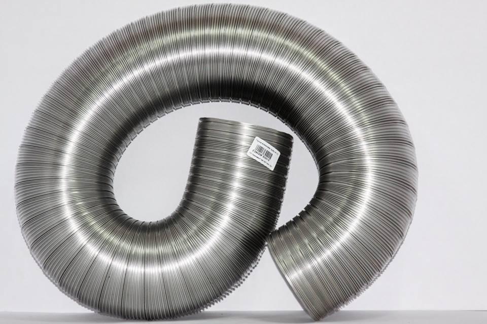 Гофра алюмінієва ф100