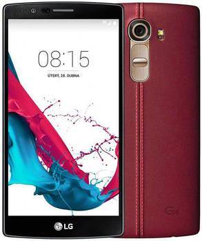 Смартфон LG H815 G4 (Genuine Leather Red)