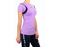 Футболка женская Lotto XRIDE TEE W (S2939) VIOLET DIGITAL/BLUE COLLEGE