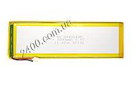 Аккумулятор 3000мАч 4044140 мм 3,7в универсальный для планшета Bravis, Jeka, Nomi и др 3000mAh 3.7v 4*44*140