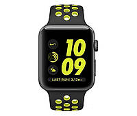 Apple Watch Nike+ 38mm Series 2 Space Gray Aluminum Case with Black/Volt Nike Sport Band (MP082)	, фото 1