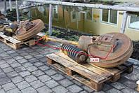Направляющие колесо - ленивец с натяжителями  Liebherr PR 721, 1987  г.в.