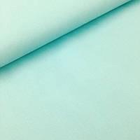 Однотонная польская бязь светло-мятного цвета №370