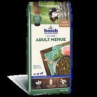 Bosch (Бош) ADULT MENU - корм для собак с нормальной активностью, 15кг