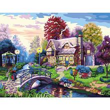 Набор для рисования картины на холсте Счастливое место