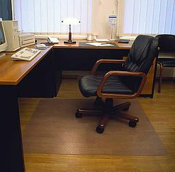 Захисний килимок під крісло 100см х 125см (1 мм)