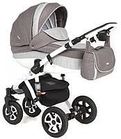 Детская коляска универсальная 2 в 1 Adamex Barletta 329W (Адамекс Барлетта)