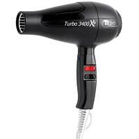 Профессиональный фен для волос с ионизацией TICO Professional Turbo 3400 XP BLACK (100001BK)